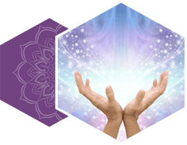 Lightworker healing hands